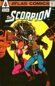 The Scorpion #1 cover