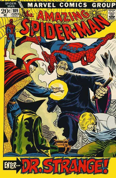 The Amazing Spider-Man #109 cover