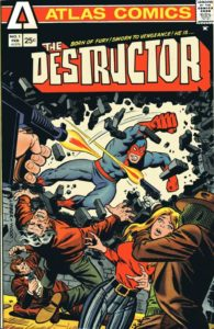 The Destructor #1 cover