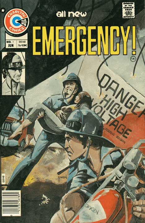 Emergency! #1 cover