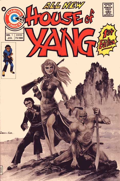 House of Yang #1 cover
