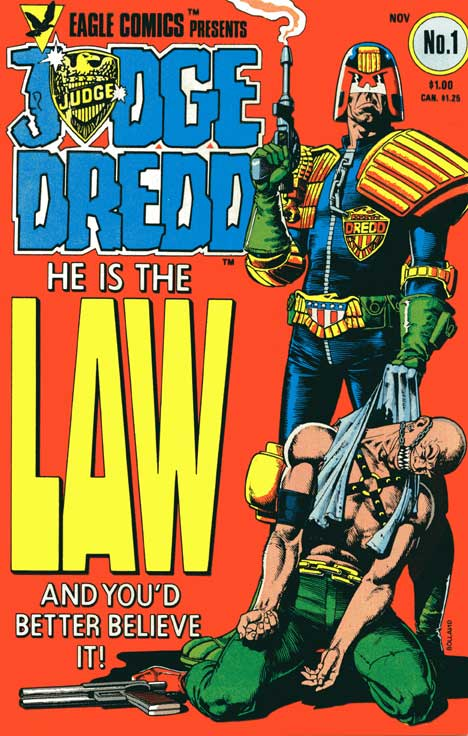 Judge Dredd #1 cover