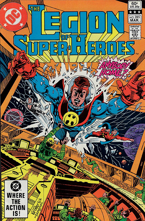 The Legion of Super-Heroes (1980) #285 cover
