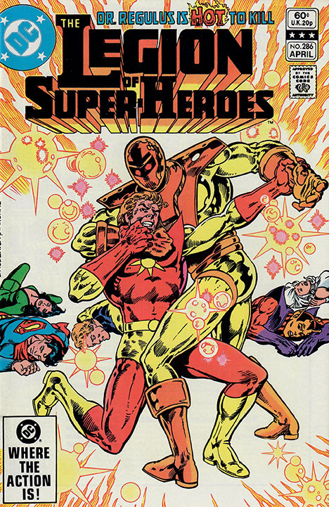 The Legion of Super-Heroes (1980) #286 cover