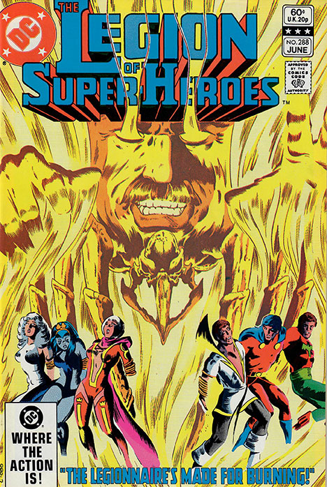 The Legion of Super-Heroes (1980) #288 cover