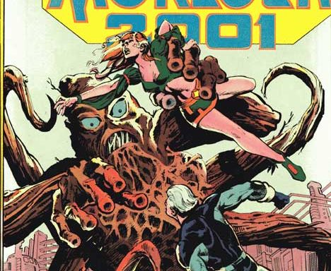 Morlock 2001 #1 cover