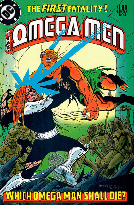The Omega Men #4 cover