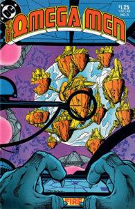 The Omega Men #5 cover