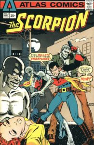 Scorpion #2 cover