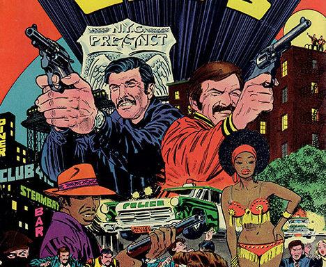 The Super Cops #1 cover