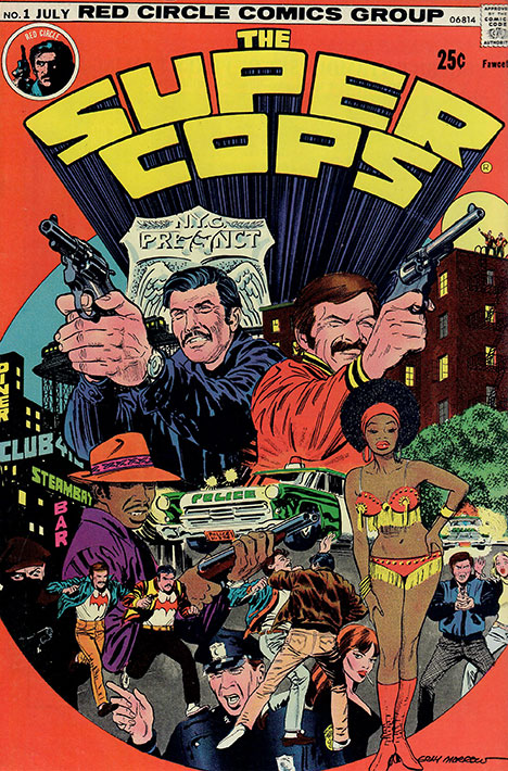The Super Cops #1 cover
