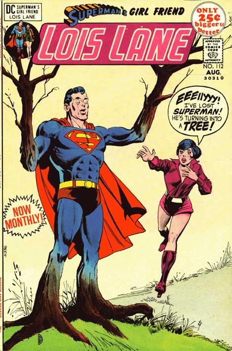 Superman's Girlfriend Lois Lane #112 cover