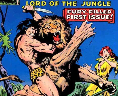 Tarzan (Marvel) #1 cover