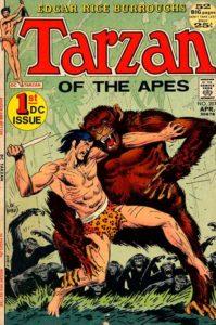 Tarzan (DC) #207 cover