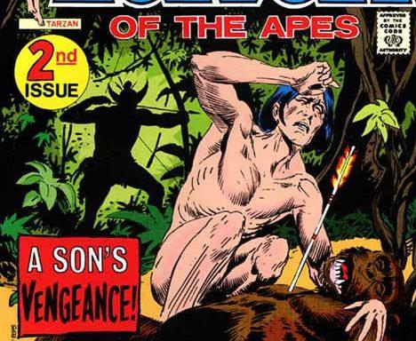 Tarzan (DC) #208 cover