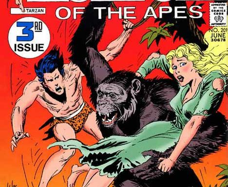 Tarzan (DC) #209 cover