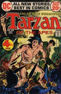 Tarzan (DC) #210 cover