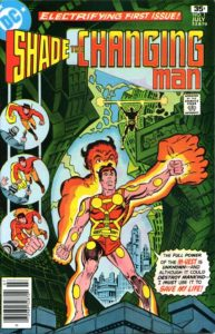 Shade the Changing Man #1 cover