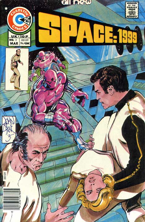 Space: 1999 #3 cover