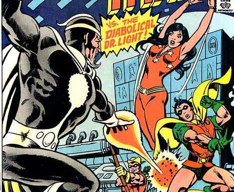 Teen Titans #44 cover