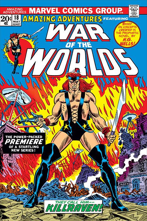Amazing Adventures #18 cover