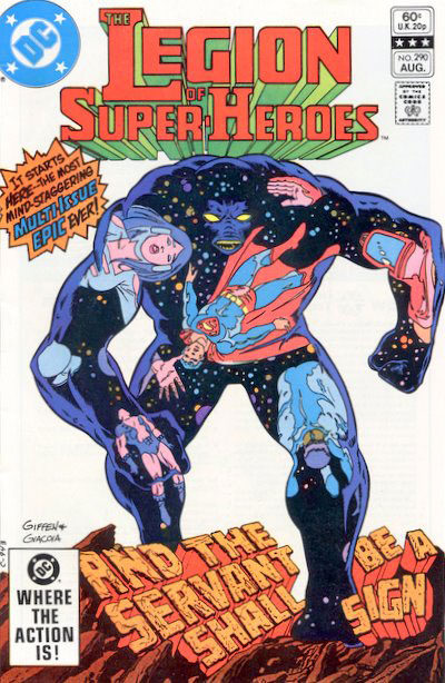 The Legion of Super-Heroes (1980) #290 cover