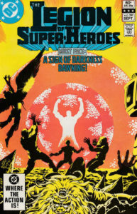 The Legion of Super-Heroes (1980) #291 cover