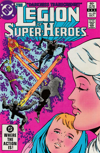 The Legion of Super-Heroes (1980) #292 cover
