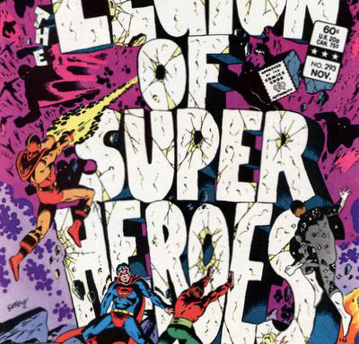 The Legion of Super-Heroes (1980) #293 cover