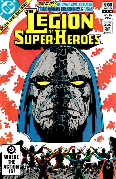 The Legion of Super-Heroes (1980) #294 cover
