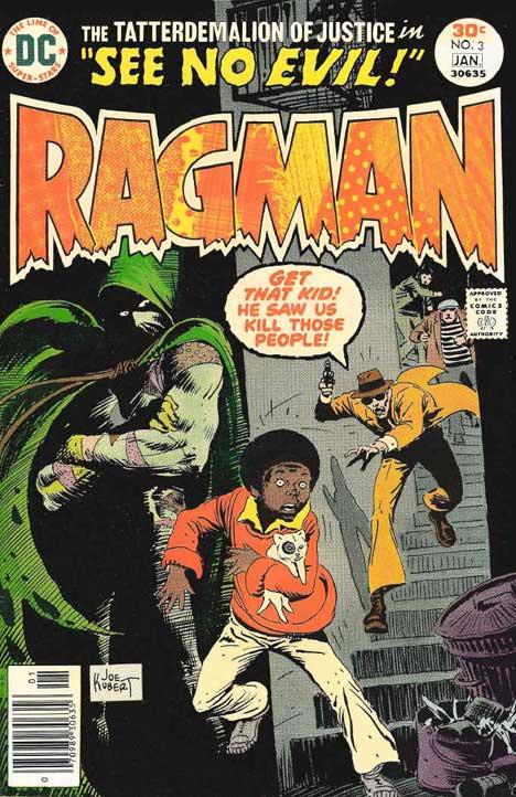 Ragman #3 cover
