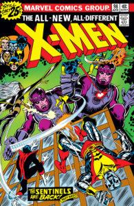 X-Men #98 cover