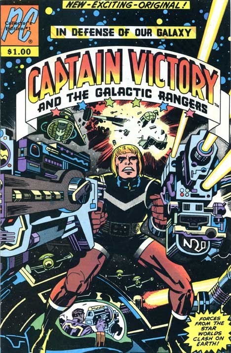 Captain Victory and the Galactic Rangers #1 cover