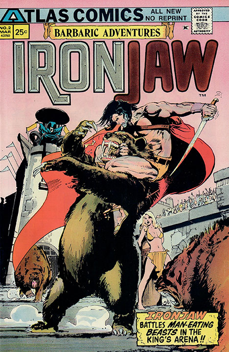 Ironjaw #2 cover