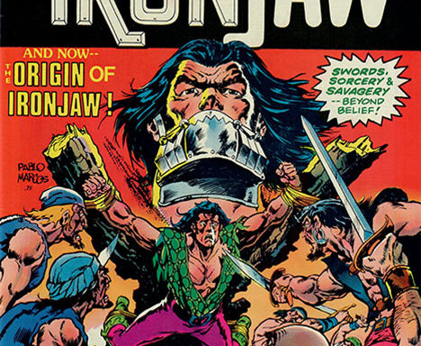 Ironjaw #4 cover