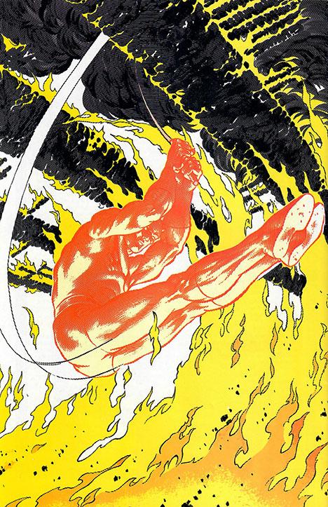 Marvel Fanfare #15 back cover