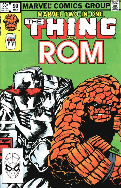 Marvel Two-in-One #99 cover