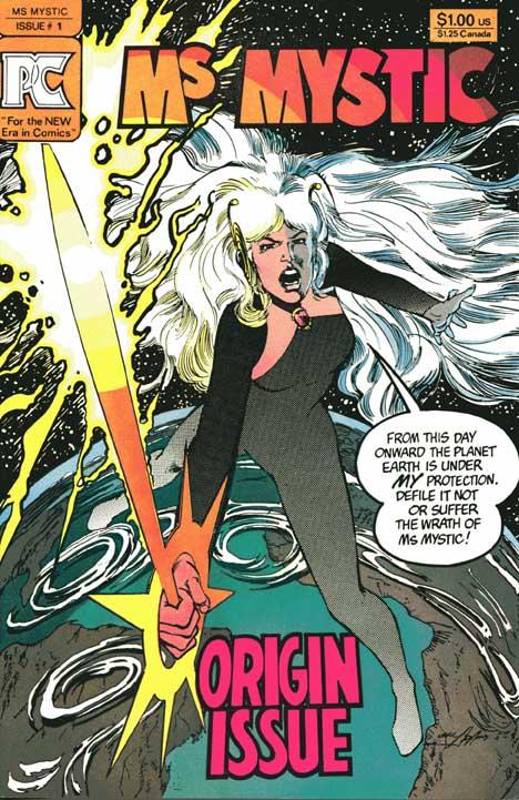 Ms. Mystic #1 cover