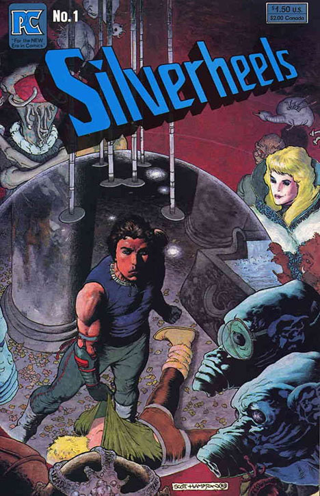 Silverheels #1 cover