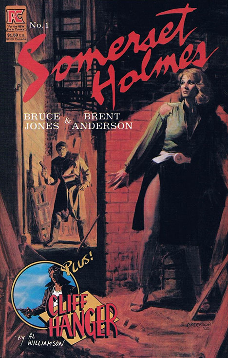 Somerset Holmes #1 cover
