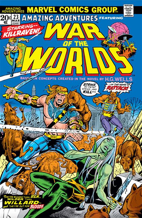 Amazing Adventures #23 cover