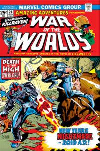 Amazing Adventures #24 cover