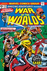Amazing Adventures #25 cover