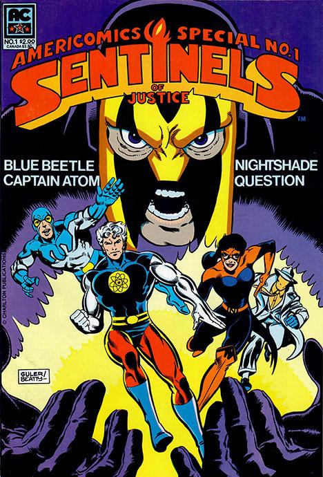 Americomics Special #1 cover