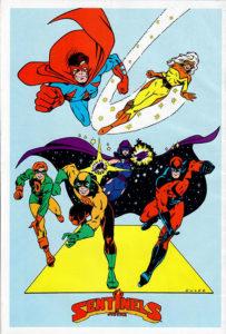 Americomics Special #1 back cover