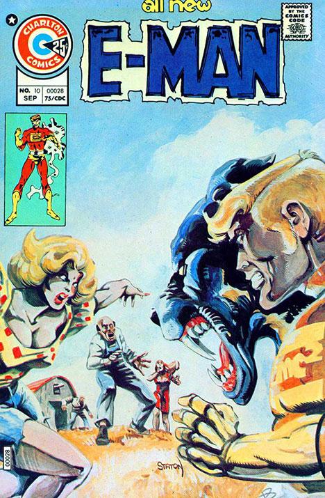 E-Man #10 cover