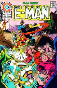 E-Man #6 cover