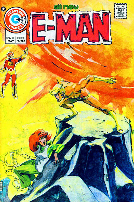 E-Man #8 cover