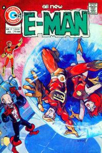 E-Man #9 cover