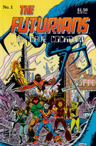 The Futurians by Dave Cockrum #1 cover
